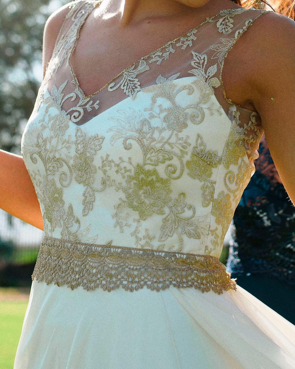 Vestido de novia con encaje, usado, diseñado por Cala Novias | Mi ...