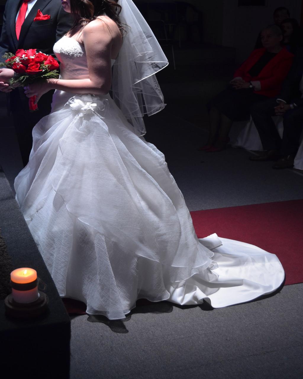 Limpiar vestido de novia en casa