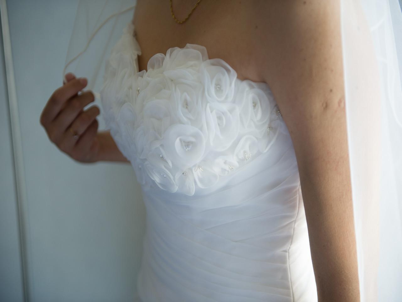 Vestido de novia usado corte sirena Concepción   Mi Vestido