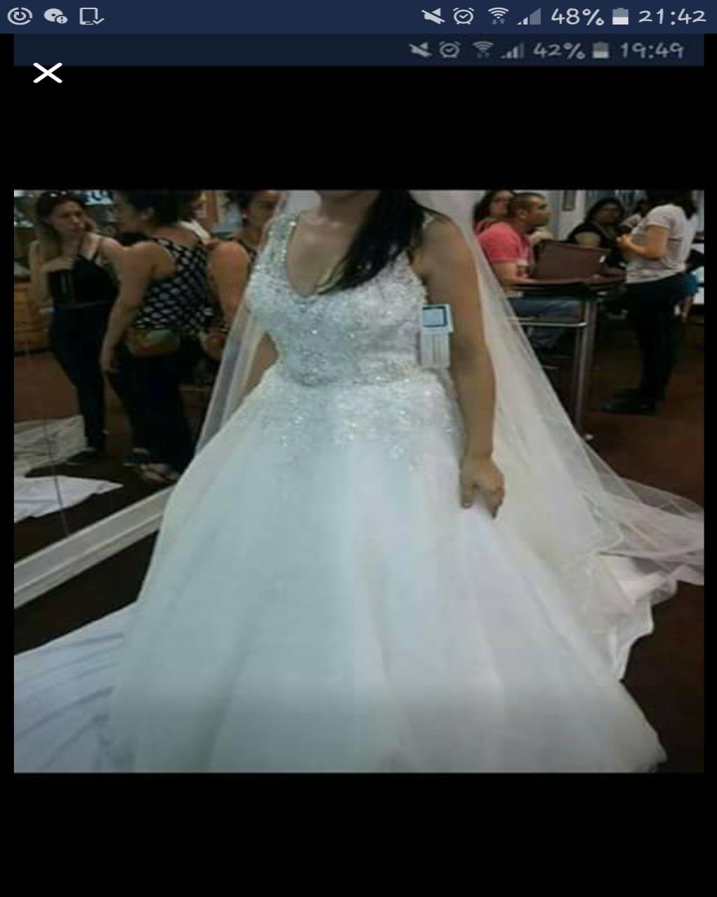 Vestido de novia usado estilo princesa Concepción | Mi Vestido