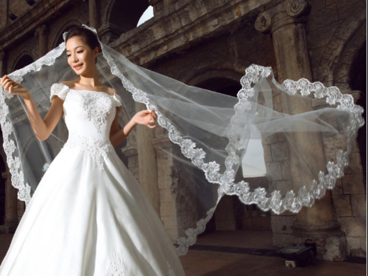 171b1bd41c Todo tipo de velos de novia usados a precios convenientes