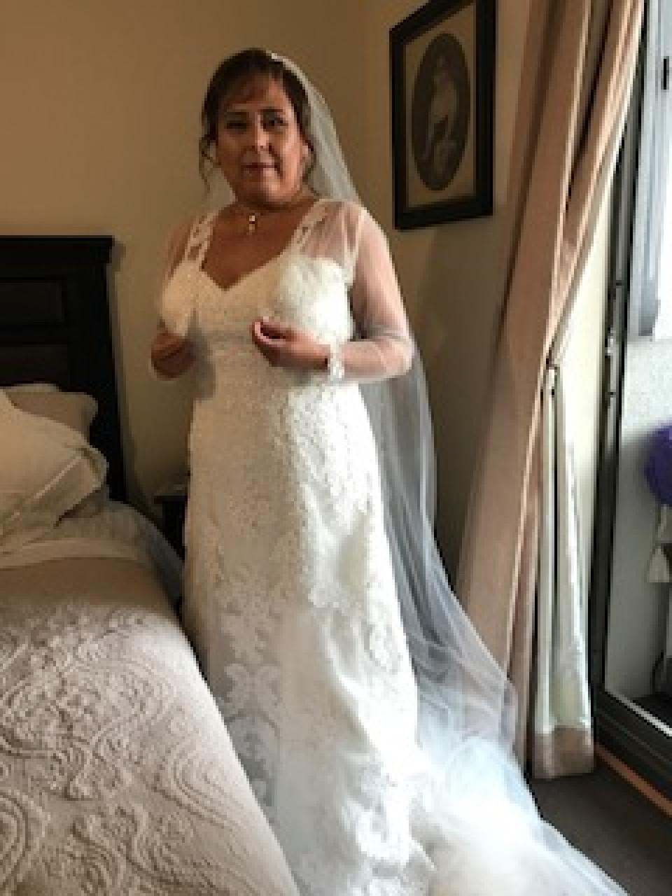 Vestido de novia usado chile