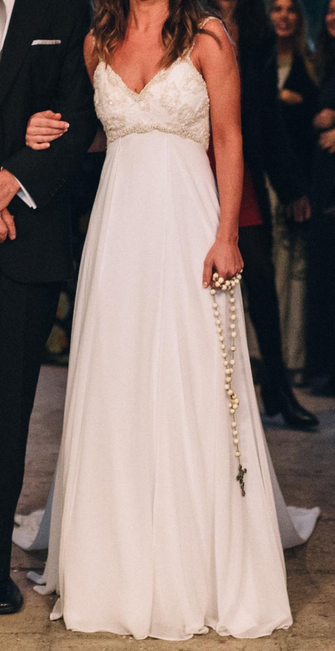 Vestidos de novia usados talla 46