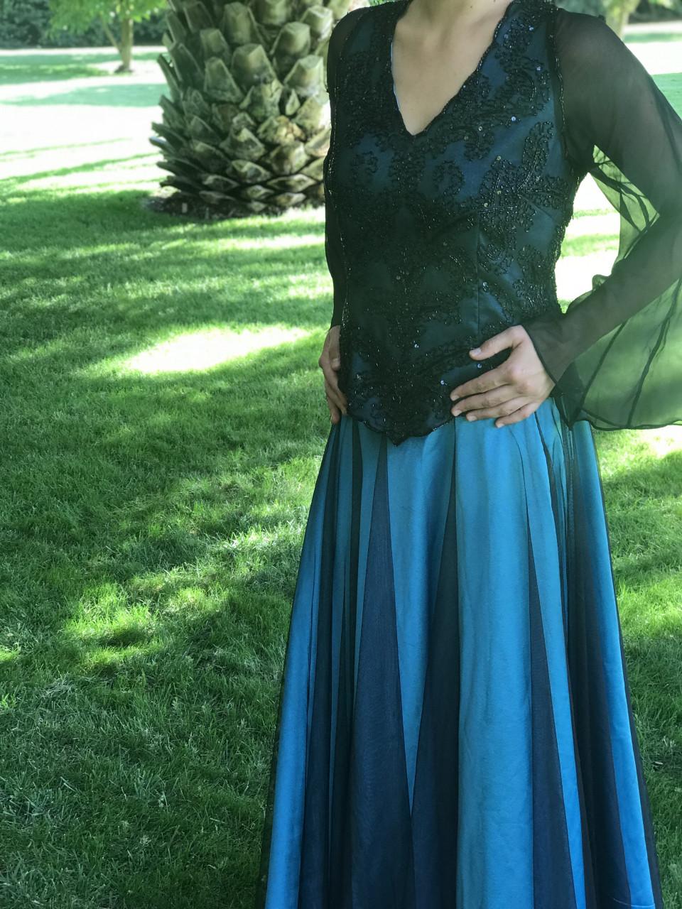 78e5cea079 Vestido usado de madrina