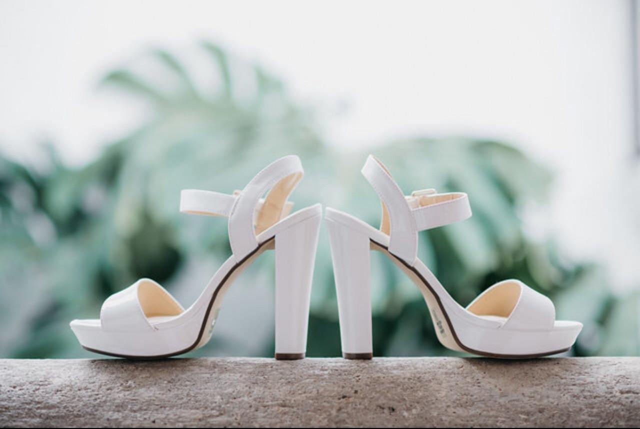 Zapatos de novia en Chile usados para matrimonio | Mi Vestido