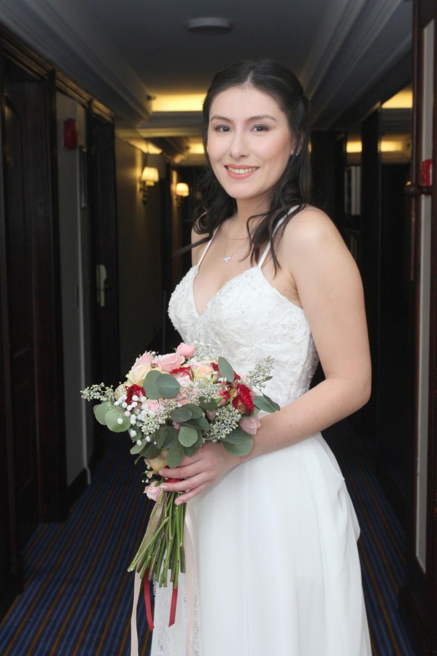 Precio vestido de novia chile