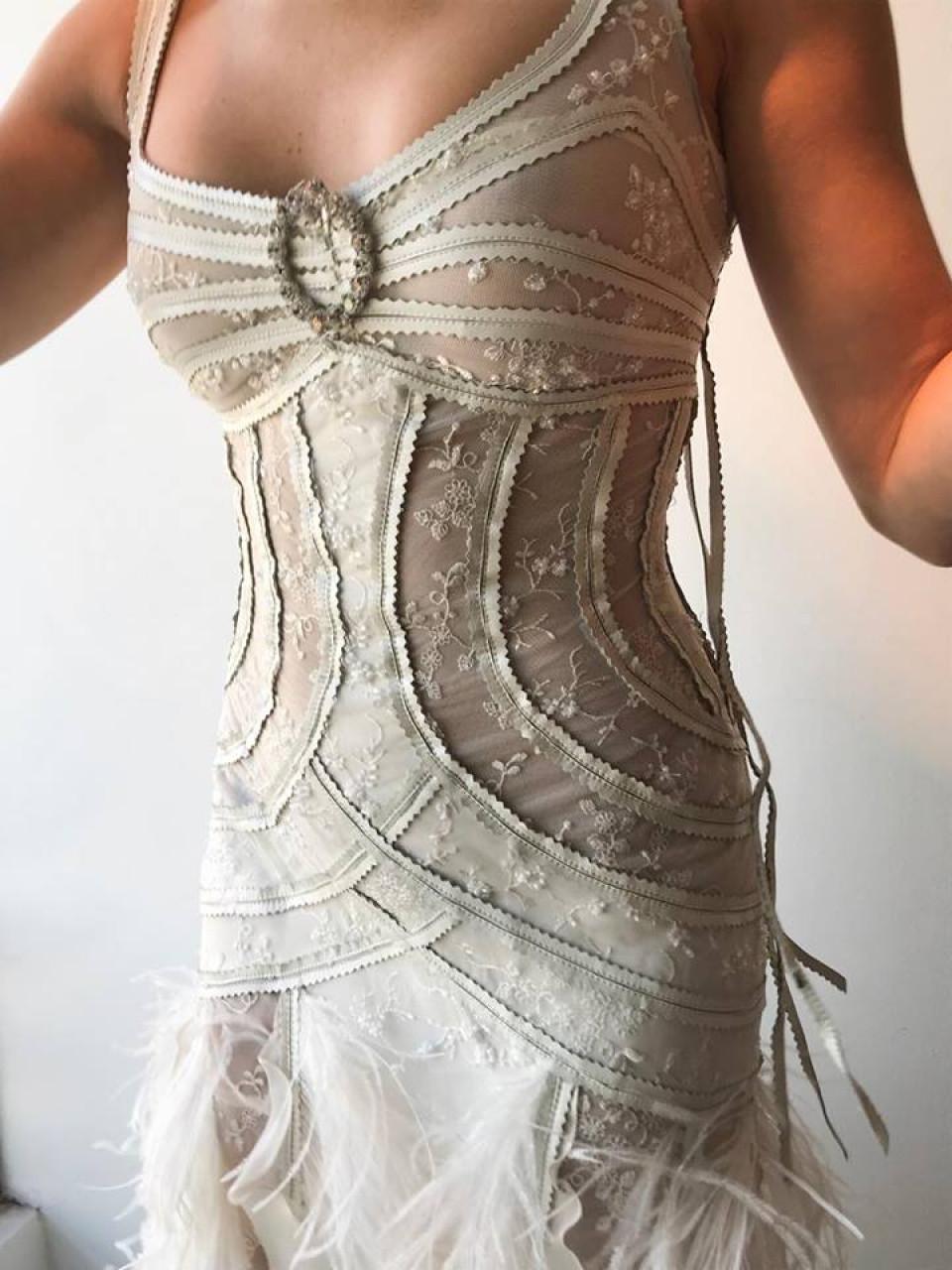 Precios de vestidos de novia con corset