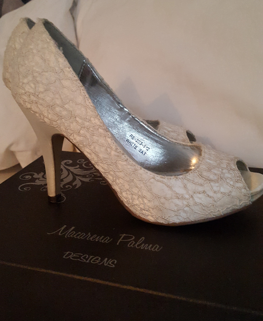 2a005e54 Zapatos de novia en Chile usados para matrimonio | Mi Vestido